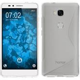 Silikonhülle für Huawei Honor 5X S-Style clear