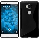 Silikonhülle für Huawei Honor 5X S-Style schwarz
