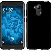 Silikon Hülle Honor 6C Pro  schwarz Case