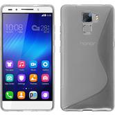 Silikonhülle für Huawei Honor 7 S-Style clear
