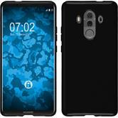 Silikon Hülle Mate 10 Pro transparent schwarz Case
