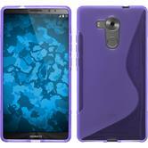 Silikonhülle für Huawei Mate 8 S-Style lila