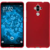 Silicone Case Mate 9 matt red