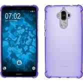 Silicone Case Mate 9 ShockProof purple