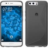 Silicone Case P10 Plus S-Style gray Case