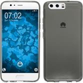 Silikon Hülle P10 Plus transparent grau Case