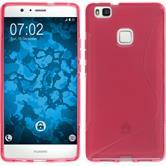 Silikon Hülle P9 Lite S-Style pink