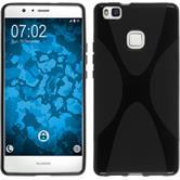 Silikonhülle für Huawei P9 Lite X-Style schwarz