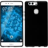 Silikonhülle für Huawei P9 Plus crystal-case schwarz