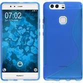 Silikon Hülle P9 Plus S-Style blau