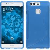 Silikon Hülle P9 S-Style blau