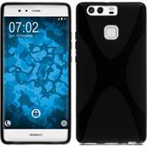 Silikonhülle für Huawei P9 X-Style schwarz