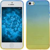 Silicone Case for Apple iPhone SE Ombrè Design:02