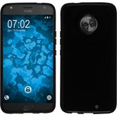 Silikon Hülle Moto X4  schwarz Case