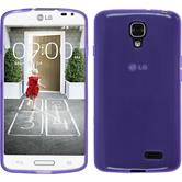 Silicone Case for LG F70 transparent purple