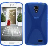 Silicone Case for LG F70 X-Style blue