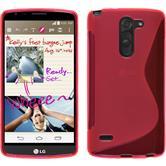 Silikon Hülle G3 Stylus S-Style pink + 2 Schutzfolien