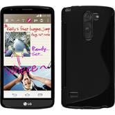 Silikonhülle für LG G3 Stylus S-Style schwarz