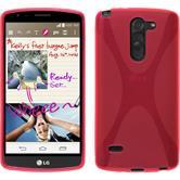 Silikon Hülle G3 Stylus X-Style pink + 2 Schutzfolien