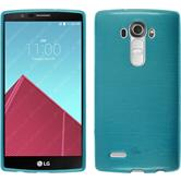 Silicone Case for LG G4 brushed blue