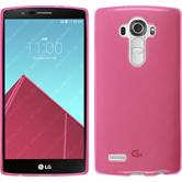 Silicone Case for LG G4 transparent pink
