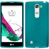 Silikonhülle für LG G4c brushed blau