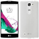 Silikonhülle für LG G4c transparent weiß