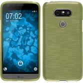 Silikon Hülle G5 brushed pastellgrün Case