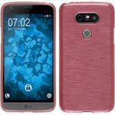 Silikon Hülle G5 brushed rosa Case