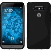 Silikon Hülle G5 S-Style schwarz Case