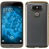 Silikon Hülle G5 Slim Fit gold Case