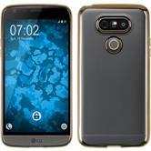 Silikonhülle für LG G5 Slim Fit gold