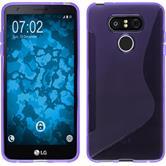 Silikon Hülle G6 S-Style lila Case