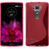 Silikon Hülle G Flex 2 S-Style pink + 2 Schutzfolien