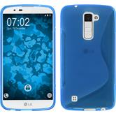Silikon Hülle K10 S-Style blau Case
