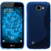 Silikon Hülle K4 S-Style blau