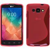 Silikon Hülle L60 S-Style pink Case