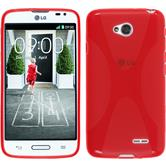 Silicone Case for LG L70 X-Style red