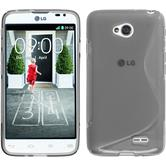 Silicone Case for LG L70 Dual S-Style gray