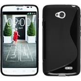 Silicone Case for LG L70 Dual S-Style black