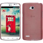 Silicone Case for LG L80 Dual brushed pink