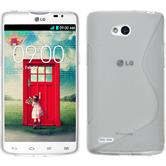 Silicone Case for LG L80 Dual S-Style transparent