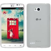 Silicone Case for LG L80 Dual transparent white