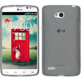 Silicone Case for LG L80 Dual X-Style gray
