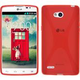 Silicone Case for LG L80 Dual X-Style red