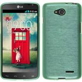 Silicone Case for LG L90 Dual brushed green