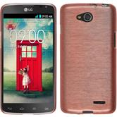 Silicone Case for LG L90 Dual brushed pink