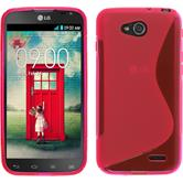 Silicone Case for LG L90 Dual S-Style hot pink