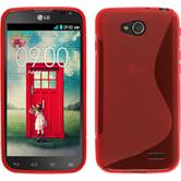 Silicone Case for LG L90 Dual S-Style red