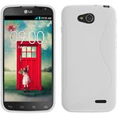 Silicone Case for LG L90 Dual S-Style white